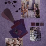 How to create a tone-on-tone color mood board? The Violet Series
