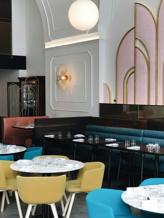 Eclectic Trends | Art Deco vibes at Oretta in Toronto