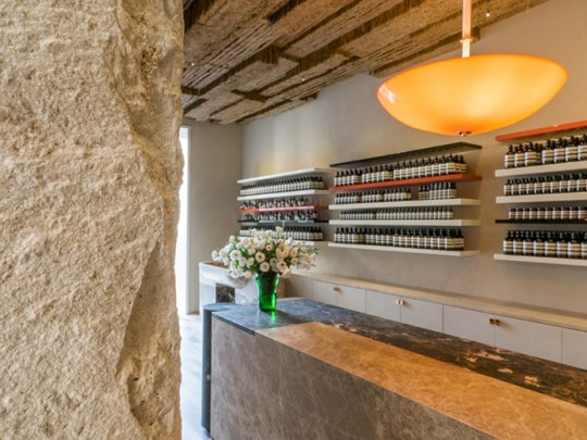 Eclectic Trends | Guadagnino's new interior design for Aesop