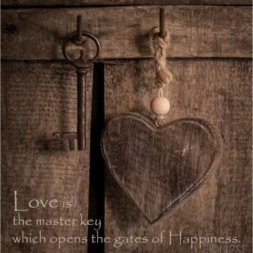 Love key quote