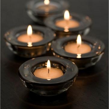 Candles on Slate