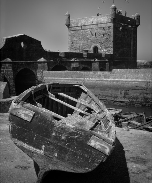 Essaouira, fishing boats, Ramparts Skala de la Ville, Travel photography
