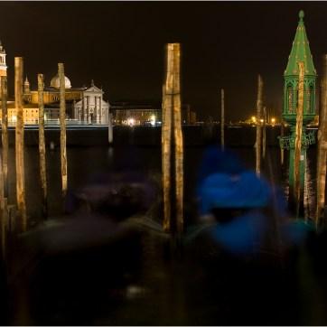 Venice, Gondola, Lantern, Travel photography
