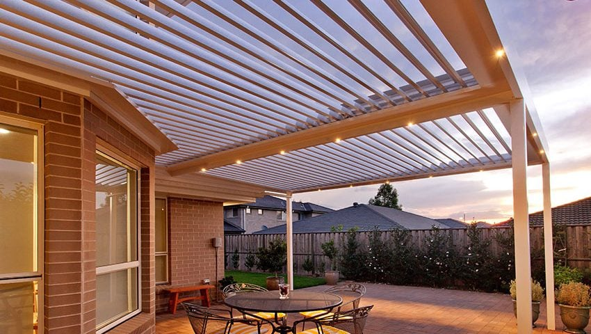 benefits of louvred opening roofs over