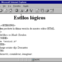 Etiquetas resalta texto en HTML