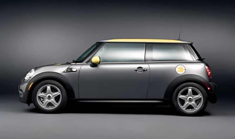 Mini E de BMW un modelo ecológico