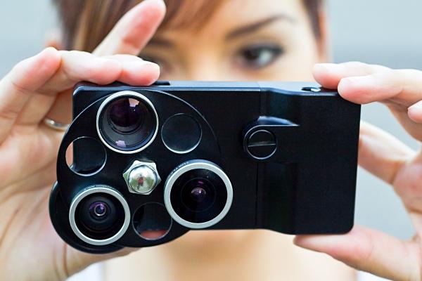 Photojojo.com presenta los lentes ojos de pez para iPhone