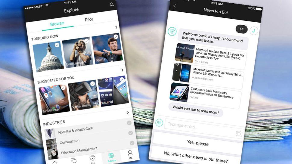 News Pro, el nuevo bot de noticias de Microsoft