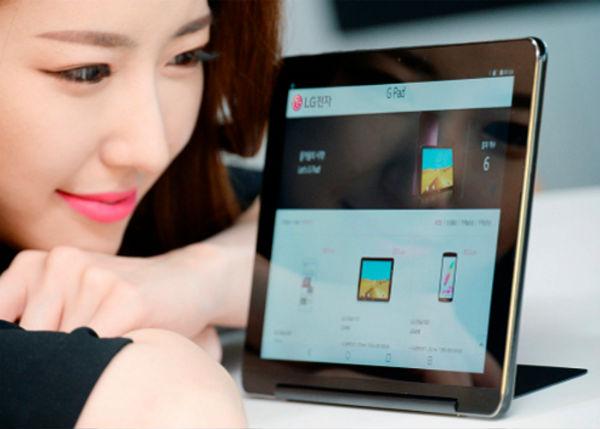 LG G III Pad, la nueva tablet de 10,1 pulgadas de LG