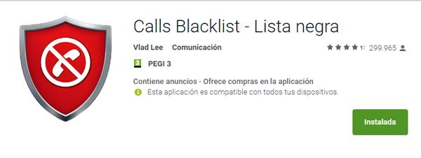Apps para bloquear llamadas molestas en el móvil
