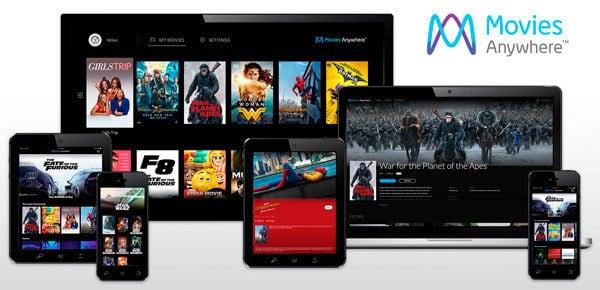 Movies Anywhere, una nueva forma de ver películas online