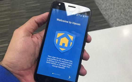 Haven, la nueva app espía de Edward Snowden