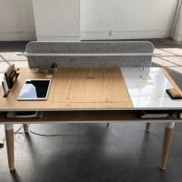 El escritorio Köllen Eget: no querrás pararte de él en todo el día