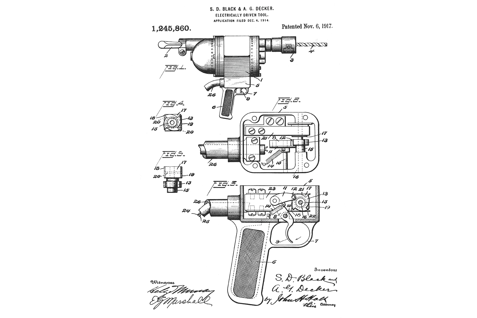 100 Years Of Innovation History Of The Electric Drill