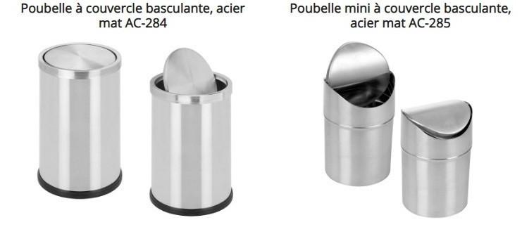 Accessoires De Salle De Bain Poubelle De Salle De Bain A Couvercle Basculant Pyp Ecm Expansion
