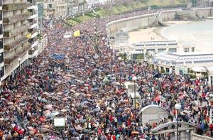Manifestação na Grécia
