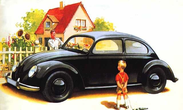 A History Of Economics In 100 Products The Vw Beetle