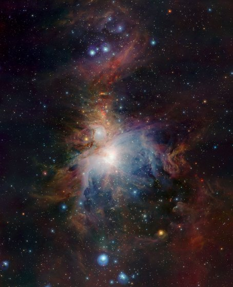1 VISTA's infrared view of the Orion Nebula (120 x 97,6 cm) €234,16