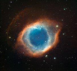 2 The Helix Nebula (111,1 x 120 cm) VERKOCHT