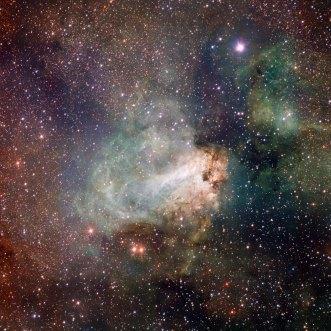 3 VST image of the Omega Nebula (120 x 120 cm) €288