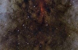 33 Dust and stars towards the heart of the Milky Way(77 x 120 cm) VERKOCHT