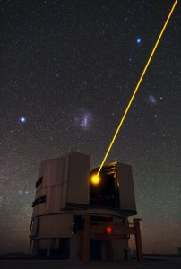 48 Yepun's Laser and the Magellanic Clouds (120 x 80,8) €193,90