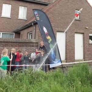 waterraketten maken en lanceren