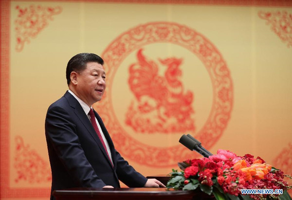 Xi s Lunar New Year speech inspires nation