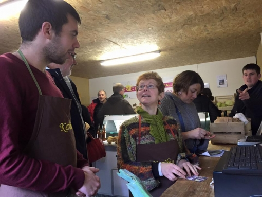 A Plabennec, le magasin associatif Keribio réunit producteurs et citoyens