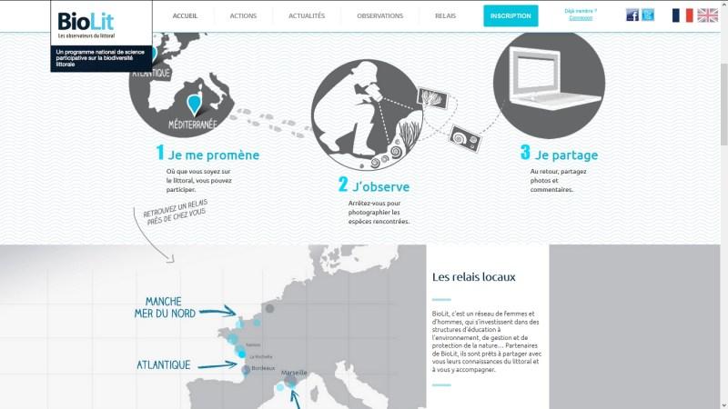 BioLit, un observatoire participatif du littoral