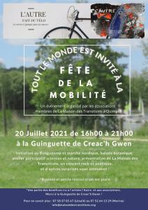 Quimper (29), Fête de la mobilité @ Guinguette de Creach Gwenn à Kermper
