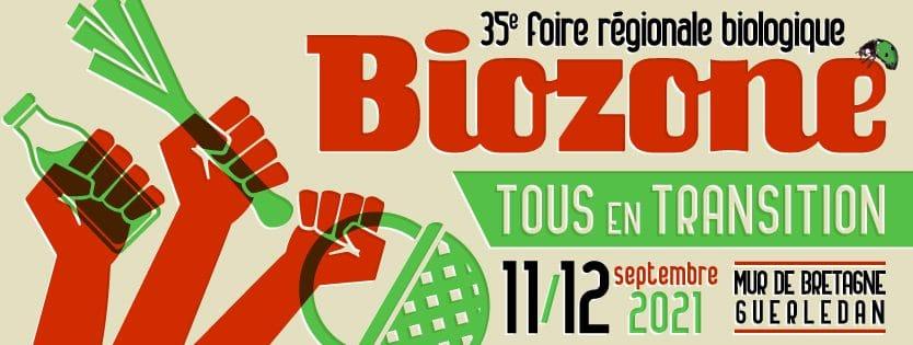 L'idée sortie. Les 11 et 12 septembre, rendez-vous à la foire bio Biozone à Mûr-de-Bretagne (22)