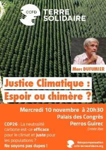 Perros-Guirec (22), Justice climatique : espoir ou chimère ? Conférence Marc Dufumier @ Palais des Congrès