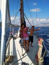 kids onboard