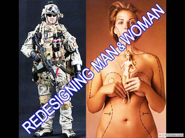 Redesigning Man & Woman