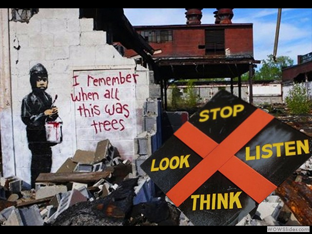 Remember Stop Look Listen Think