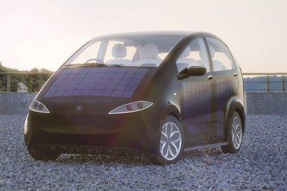 Sono Sion Elektro PKW mit Solarenergieversorgung