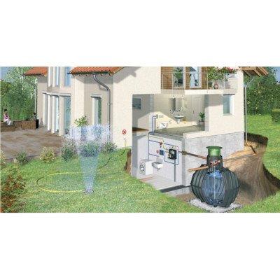 Graf Carat Regenwassertank mit Zubehör Komplettpaket Haus-Professionell
