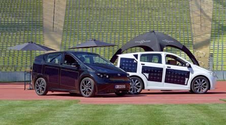 Sono Sion, erstes serienmäßiges Elektroauto mit Solarladung