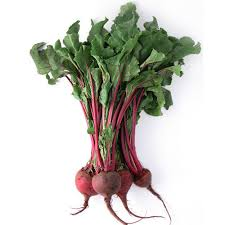Organic Beetroot with tops 1