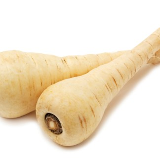 two organic parsnip