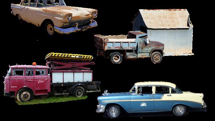 rénover une vieille voiture