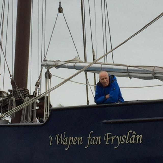 Op de boot het Wapen fan Fryslan