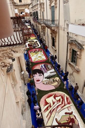 Festa dei fiori – Noto, Sicilië