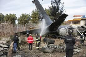 crash avion Iran