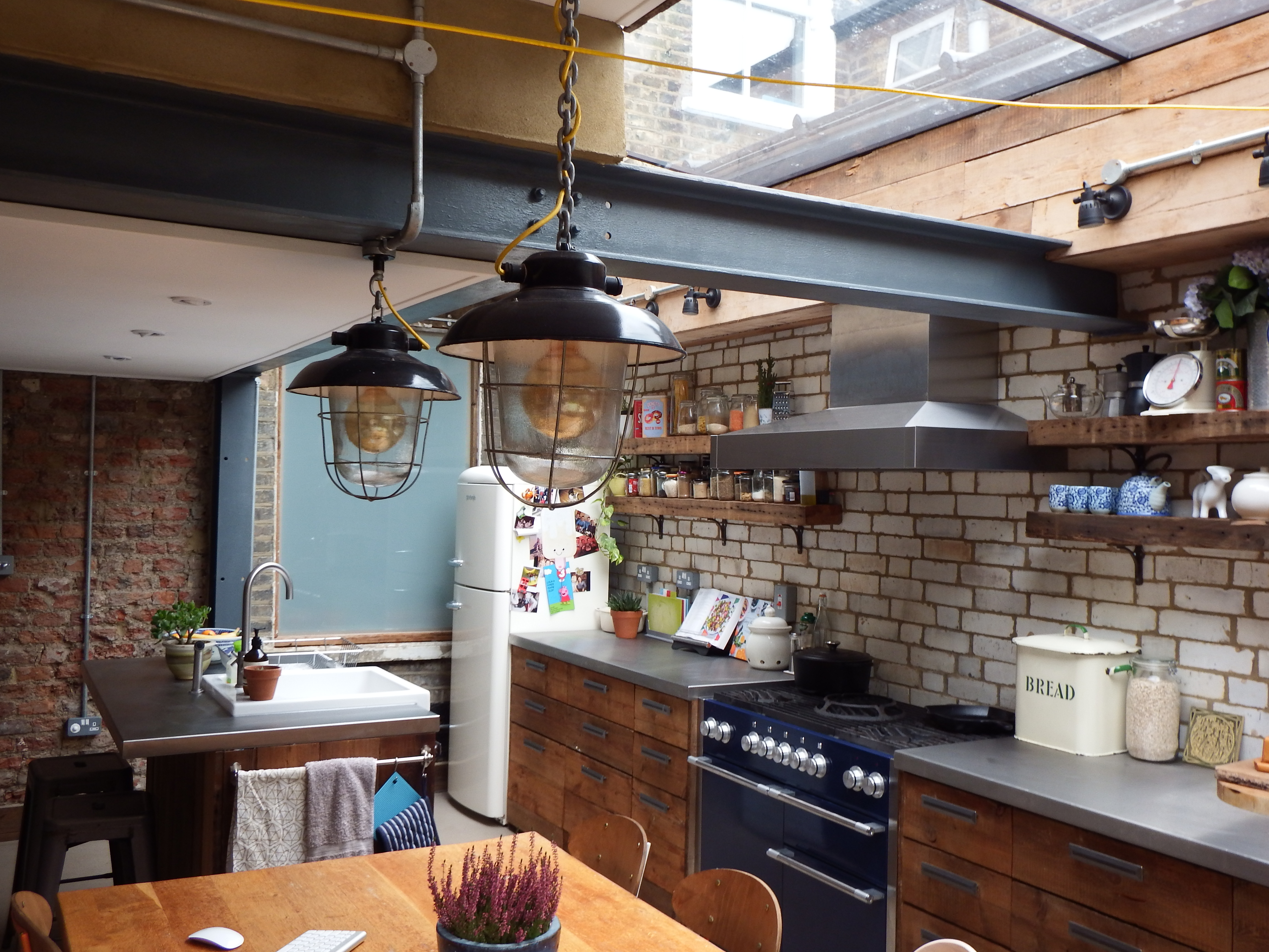 reclaimed materials in side return extension in hackney « ecoalex
