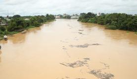 O  município  de  Brasileia  tem  286  famílias  em abrigos e 498 desalojadas Divulgação/Secom Acre