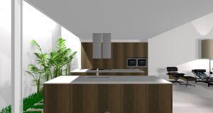 Cozinhas Modernas - Desenho Branco
