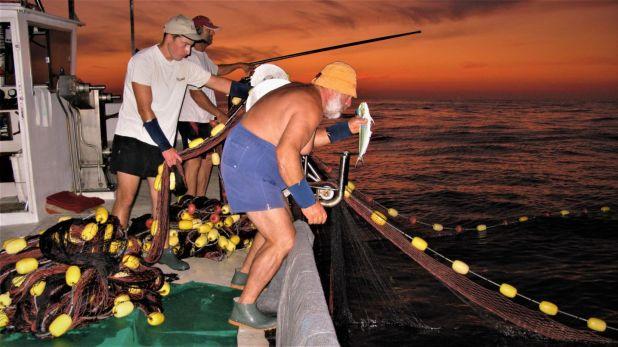 Pescadores artesanales en Mallorca / Foto: @GabiMir