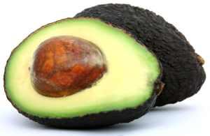 Fresh tropical food, healthy avocado fruit